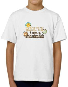 Relax, I Am An Advaita Vedanta Hindu T-Shirt Boys Youth