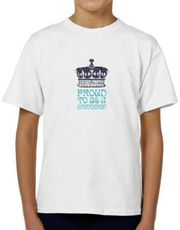 Proud To Be An Anthroposophist T-Shirt Boys Youth