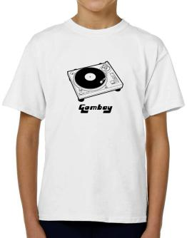 Retro Gombay - Music T-Shirt Boys Youth