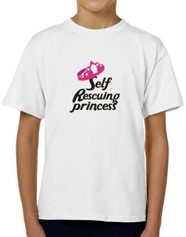 Self Rescuing Princess T-Shirt Boys Youth