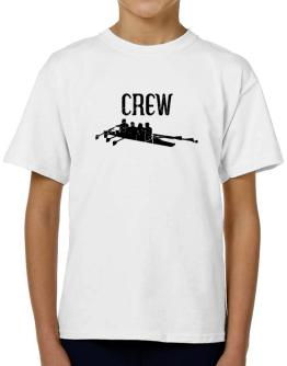 Crew rowing T-Shirt Boys Youth
