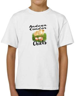Andean Condor chicks T-Shirt Boys Youth