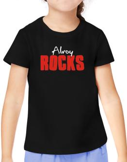 Alroy Rocks T-Shirt Girls Youth