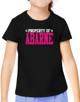 Property Of Abarne T-Shirt Girls Youth
