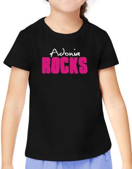 Adonia Rocks T-Shirt Girls Youth