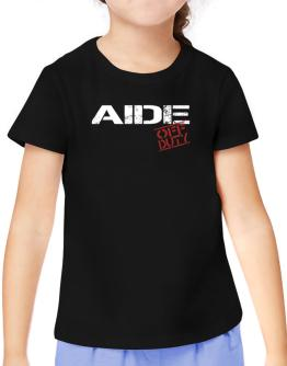Aide - Off Duty T-Shirt Girls Youth