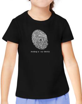 Amdang Is My Identity T-Shirt Girls Youth
