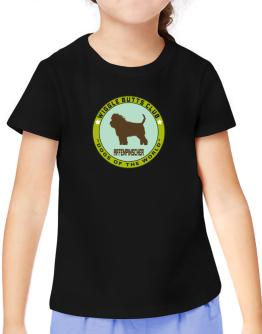 """ Affenpinscher - WIGGLE BUTTS CLUB "" T-Shirt Girls Youth"