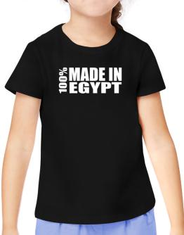 100% Made In Egypt T-Shirt Girls Youth