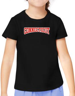 Classic Connecticut T-Shirt Girls Youth