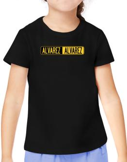 Negative Alvarez T-Shirt Girls Youth
