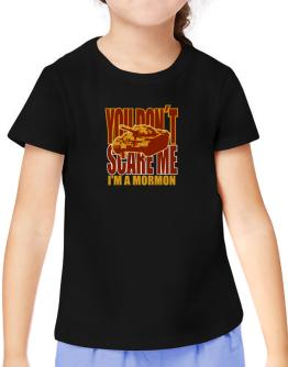 Dont Scare Me T-Shirt Girls Youth