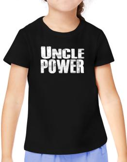 Auncle power T-Shirt Girls Youth