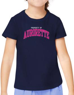 Property Of Aurorette T-Shirt Girls Youth