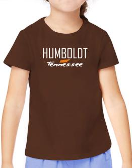 """ Humboldt - State Map "" T-Shirt Girls Youth"