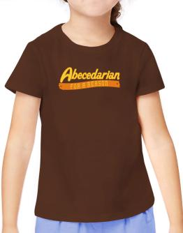 Abecedarian For A Reason T-Shirt Girls Youth