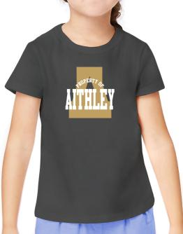 Property Of Aithley T-Shirt Girls Youth