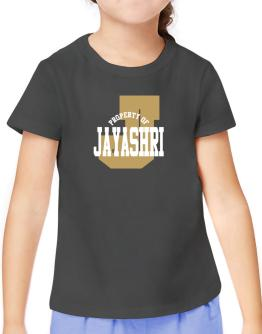 Property Of Jayashri T-Shirt Girls Youth
