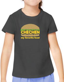 Chechen My Favorite Food T-Shirt Girls Youth
