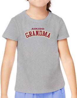 Aikido Grandma T-Shirt Girls Youth