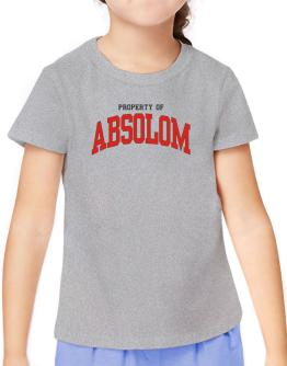 Property Of Absolom T-Shirt Girls Youth