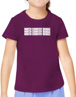 North Country Beagle three words T-Shirt Girls Youth
