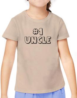 #1 Auncle T-Shirt Girls Youth