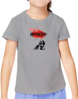 Owned By A Beagle T-Shirt Girls Youth