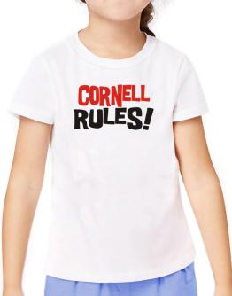 Cornell Rules! T-Shirt Girls Youth