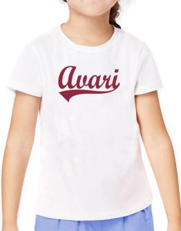 Avari T-Shirt Girls Youth