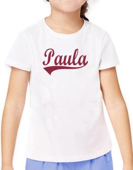 Paula T-Shirt Girls Youth