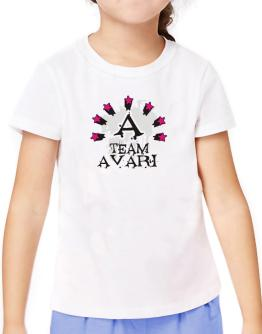Team Avari - Initial T-Shirt Girls Youth