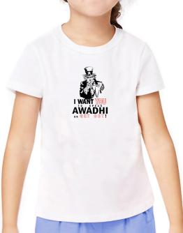 I Want You To Speak Awadhi Or Get Out! T-Shirt Girls Youth