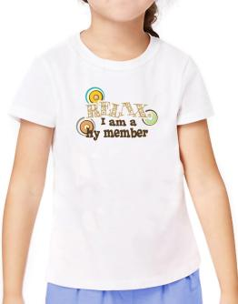 Relax, I Am A Hy Member T-Shirt Girls Youth