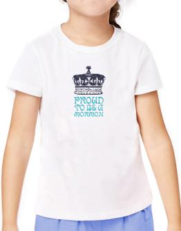 Proud To Be A Mormon T-Shirt Girls Youth