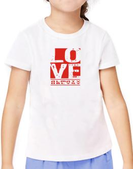 Love Almaty Oblysy T-Shirt Girls Youth