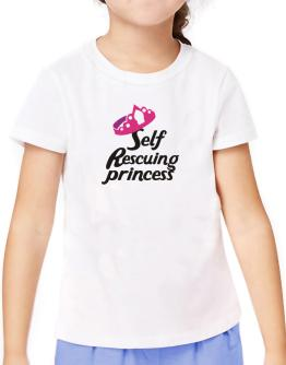 Self Rescuing Princess T-Shirt Girls Youth