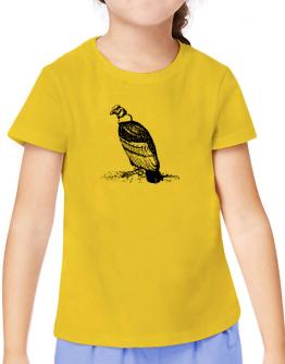 Andean Condor sketch T-Shirt Girls Youth