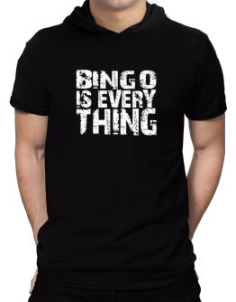 Bingo Is Everything Hooded T-Shirt - Mens
