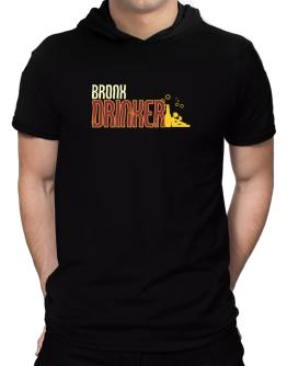 Bronx Drinker Hooded T-Shirt - Mens