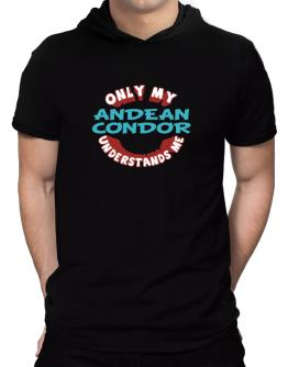 Only My Andean Condor Understands Me Hooded T-Shirt - Mens