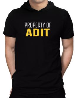Property Of Adit Hooded T-Shirt - Mens