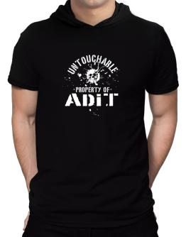 Untouchable : Property Of Adit Hooded T-Shirt - Mens