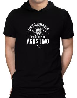 Untouchable : Property Of Agustino Hooded T-Shirt - Mens