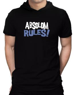 Absolom Rules! Hooded T-Shirt - Mens
