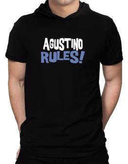 Agustino Rules! Hooded T-Shirt - Mens