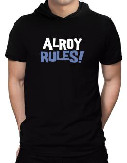 Alroy Rules! Hooded T-Shirt - Mens