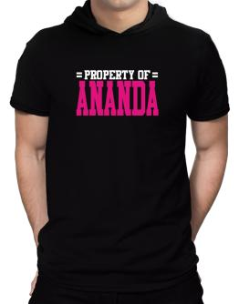 Property Of Ananda Hooded T-Shirt - Mens