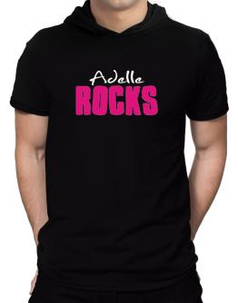 Adelle Rocks Hooded T-Shirt - Mens