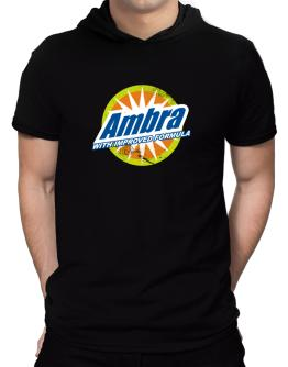Ambra - With Improved Formula Hooded T-Shirt - Mens